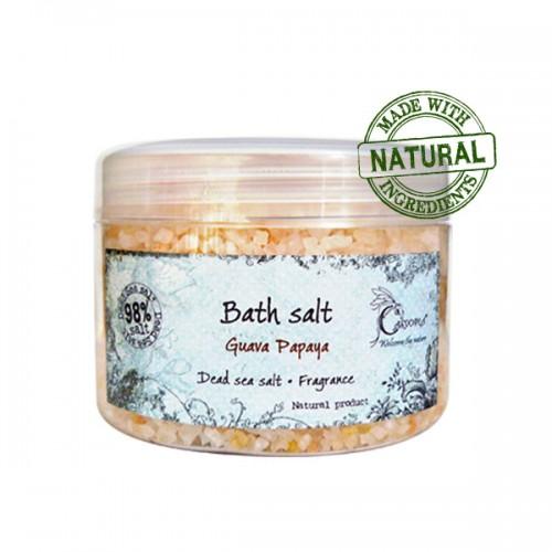 Соль для ванны Мертвого моря «Гуава Папайя» 400 мл