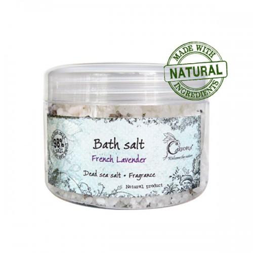 Соль Мертвого моря для ванны «Французская Лаванда» 400 мл