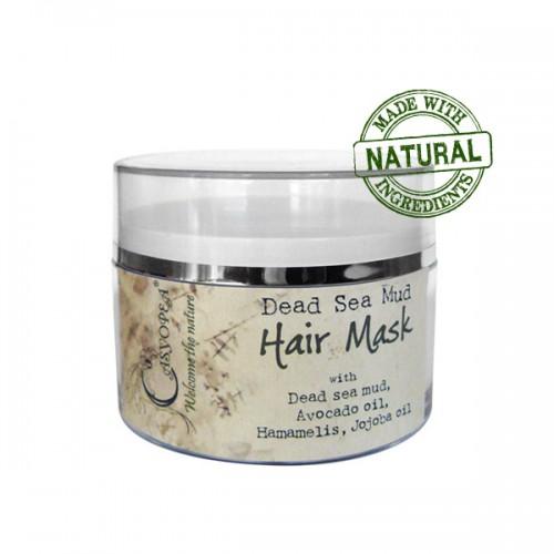 Маска для волос с грязью Мертвого моря и маслами