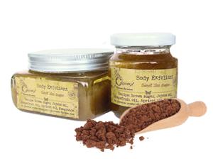 Скраб для тела с коричневым сахаром