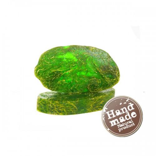 Мыло Зеленый чай с люфой - Мыло с люфой